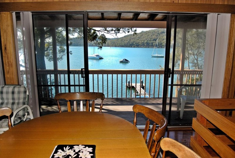 dining to water - 116 Cove Boulevard, North Arm Cove - House for Sale in North Arm Cove