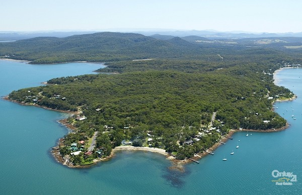Bushland surrounds - Land for Sale in North Arm Cove NSW 2324