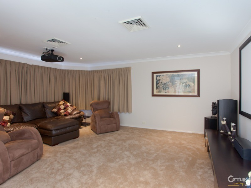 Theatre Room - 61 Timbercrest Chase, Charlestown - House for Sale in Charlestown