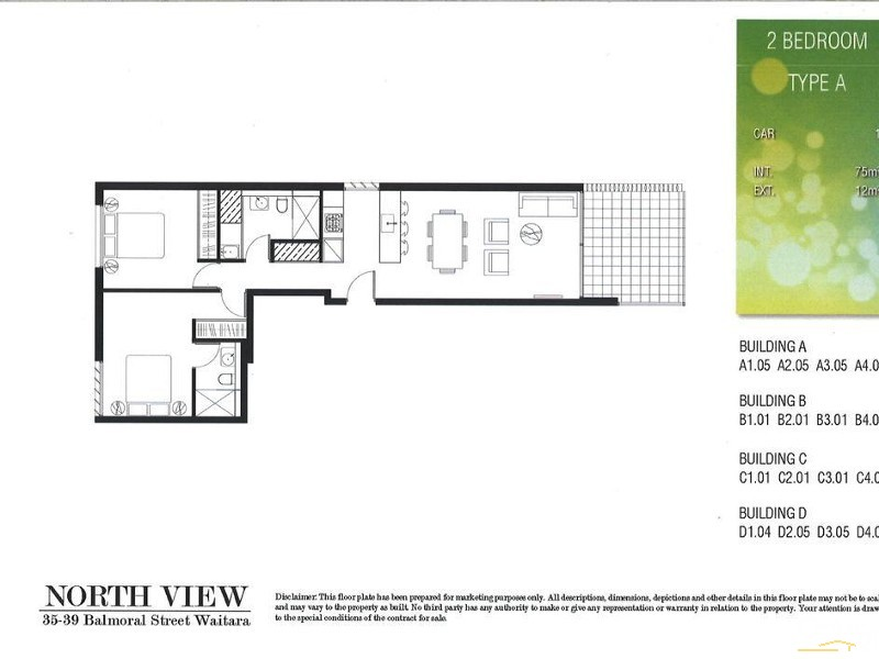 B201/35-39 Balmoral St, Waitara - Apartment for Sale in Waitara