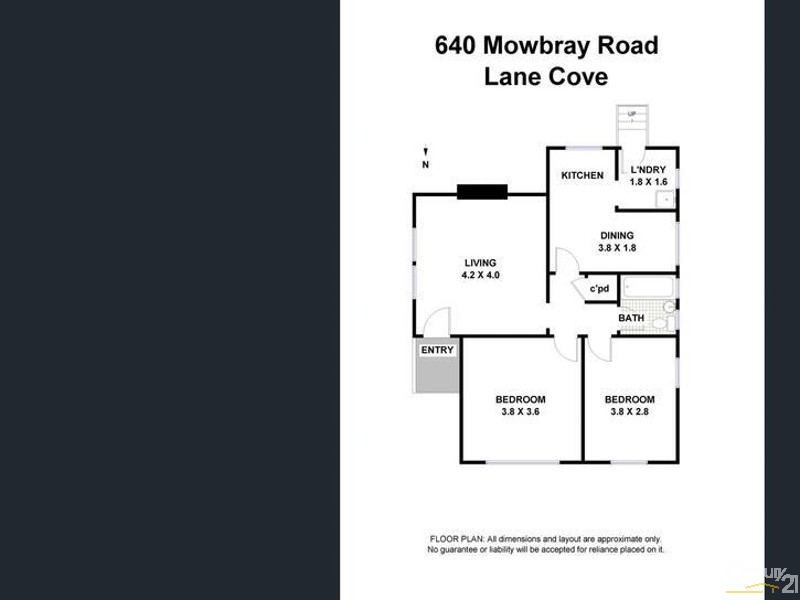 640 Mowbray Road, Lane Cove - House for Rent in Lane Cove