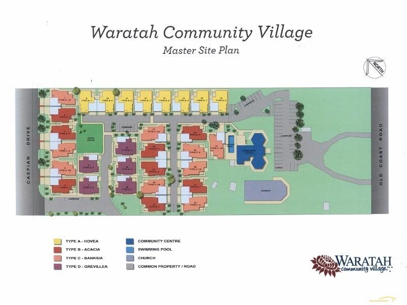 Village Plan - 4 Kennedia Lane ,Wannanup (Waratah Village), Mandurah - Property for Sale in Mandurah