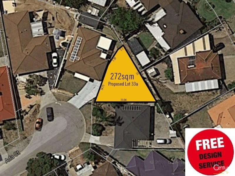 Proposed Lot 33A Ada Court, Hamilton Hill - Land for Sale in Hamilton Hill