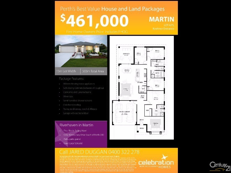 Land for Sale in Martin WA 6110