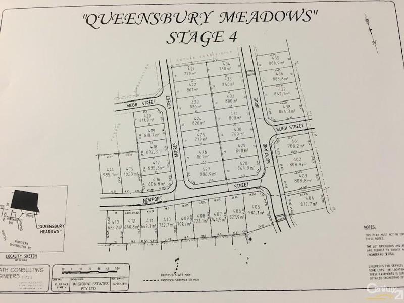 LOT 408 NEWPORT STREET - 723.1SQM, Orange - Land for Sale in Orange