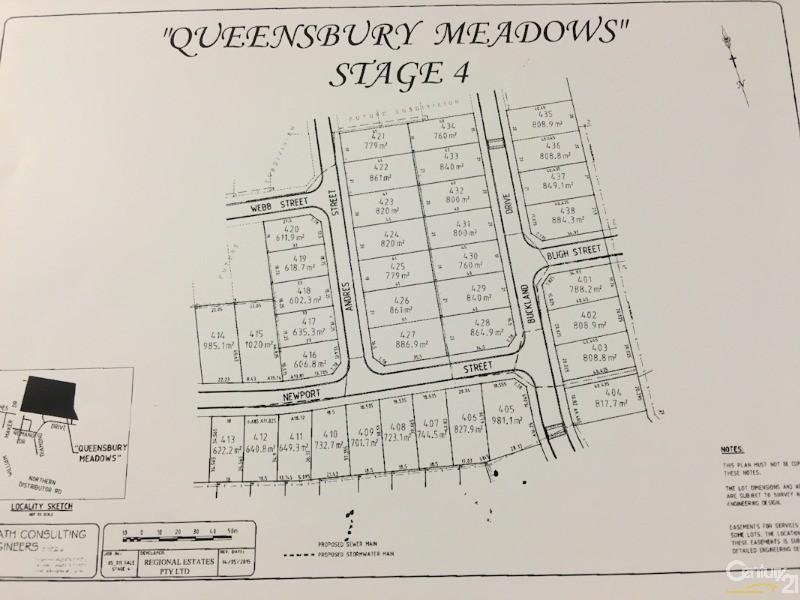 LOT 412 NEWPORT STREET - 640.8SQM, Orange - Land for Sale in Orange